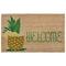 "Liora Manne Natura Welcome Pineapple Outdoor Mat Natural 18""X30"""
