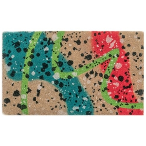 "Liora Manne Natura Graffiti Outdoor Mat Multi 18""X30"""