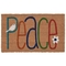 "Liora Manne Natura Peace Outdoor Mat Natural 24""X36"""