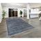 "Liora Manne Palace Stripe Indoor Rug Blue 4'10""X7'6"""