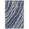 "Liora Manne Piazza Waves Indoor Rug Navy 8'3""X11'6"""