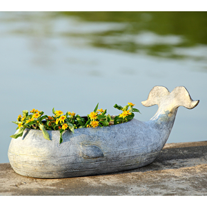 Whale Planter Set Of 2