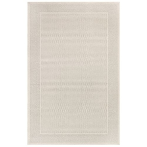 "Liora Manne Plymouth Border Indoor/Outdoor Rug Taupe 4'10""X7'6"""