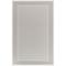 "Liora Manne Plymouth Border Indoor/Outdoor Rug Silver 4'10""X7'6"""