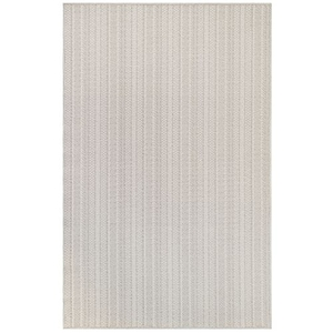 "Liora Manne Plymouth Texture Stripe Indoor/Outdoor Rug Taupe 7'10""X9'10"""