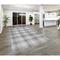 """Liora Manne Preston Plaid Indoor/Outdoor Rug Silver 42""""X66"""""""