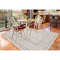 "Liora Manne Rialto Border Indoor/Outdoor Rug Ivory 7'10""X9'10"""
