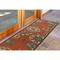 """Liora Manne Riviera Floral Vine Indoor/Outdoor Rug Red 23""""X7'6"""""""