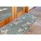 "Liora Manne Riviera Reef Border Indoor/Outdoor Rug Aqua 23""X7'6"""