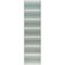 """Liora Manne Riviera Stripe Indoor/Outdoor Rug Cool 23""""X7'6"""""""