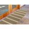 """Liora Manne Riviera Stripe Indoor/Outdoor Rug Tan 23""""X7'6"""""""