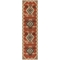 "Liora Manne Riviera Kilim Indoor/Outdoor Rug Red 23""X7'6"""