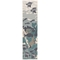 """Liora Manne Riviera Ocean Indoor/Outdoor Rug Teal 23""""X7'6"""""""