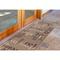 "Liora Manne Riviera Happy Words Indoor/Outdoor Rug Taupe 23""X7'6"""