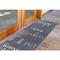 """Liora Manne Riviera Happy Words Indoor/Outdoor Rug Navy 23""""X7'6"""""""
