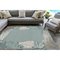 "Liora Manne Riviera Reef Border Indoor/Outdoor Rug Aqua 39""X59"""