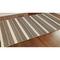 """Liora Manne Riviera Stripe Indoor/Outdoor Rug Tan 39""""X59"""""""