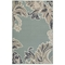 "Liora Manne Riviera Ornamental Leaf Indoor/Outdoor Rug Cool 39""X59"""