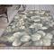 "Liora Manne Riviera Tropical Flower Indoor/Outdoor Rug Navy 39""X59"""
