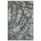 """Liora Manne Riviera Palm Indoor/Outdoor Rug Teal 39""""X59"""""""
