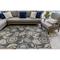 """Liora Manne Riviera Floral Vine Indoor/Outdoor Rug Navy 4'10""""X7'6"""""""