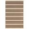 """Liora Manne Riviera Stripe Indoor/Outdoor Rug Tan 4'10""""X7'6"""""""