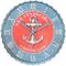 Anchor Nautical Wall Clock
