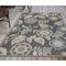 """Liora Manne Riviera Floral Vine Indoor/Outdoor Rug Navy 6'6""""X9'3"""""""