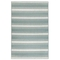"Liora Manne Riviera Stripe Indoor/Outdoor Rug Cool 6'6""X9'3"""