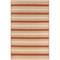 """Liora Manne Riviera Stripe Indoor/Outdoor Rug Red 6'6""""X9'3"""""""