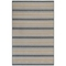 "Liora Manne Riviera Stripe Indoor/Outdoor Rug Navy 6'6""X9'3"""