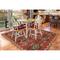 """Liora Manne Riviera Kilim Indoor/Outdoor Rug Red 6'6""""X9'3"""""""