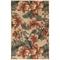 """Liora Manne Riviera Tropical Flower Indoor/Outdoor Rug Cream 6'6""""X9'3"""""""