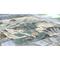 """Liora Manne Riviera Ocean Indoor/Outdoor Rug Teal 7'10"""" Sq"""