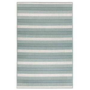 "Liora Manne Riviera Stripe Indoor/Outdoor Rug Cool 7'10""X9'10"""