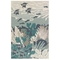"""Liora Manne Riviera Ocean Indoor/Outdoor Rug Teal 7'10""""X9'10"""""""