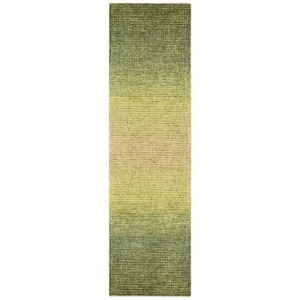 "Liora Manne Savannah Horizon Indoor Rug Green 24""X7'6"""