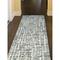 """Liora Manne Savannah Grid Indoor Rug Ocean 24""""X7'6"""""""