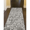 "Liora Manne Savannah Grid Indoor Rug Charcoal 24""X7'6"""