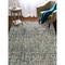 """Liora Manne Savannah Grid Indoor Rug Ocean 42""""X66"""""""