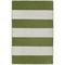 "Liora Manne Sorrento Rugby Stripe Indoor/Outdoor Rug Green 24""X36"""