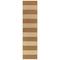 "Liora Manne Sorrento Rugby Stripe Indoor/Outdoor Rug Sisal 24""X8'"