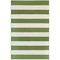 "Liora Manne Sorrento Rugby Stripe Indoor/Outdoor Rug Green 7'6""X9'6"""