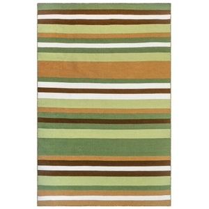 Liora Manne Sorrento Tribeca Indoor/Outdoor Rug Fern 8' Sq