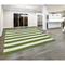 Liora Manne Sorrento Rugby Stripe Indoor/Outdoor Rug Green 8' Sq