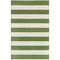 "Liora Manne Sorrento Rugby Stripe Indoor/Outdoor Rug Green 8'3""X11'6"""
