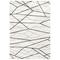 "Liora Manne Trek Lines Indoor Rug Ivory 39""X59"""