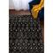 """Liora Manne Trek Tribal Indoor Rug Charcoal 4'10""""X7'6"""""""