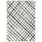 """Liora Manne Trek Plaid Indoor Rug Shadow Black 4'10""""X7'6"""""""
