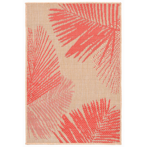 Palm Coral Indoor Outdoor Rug